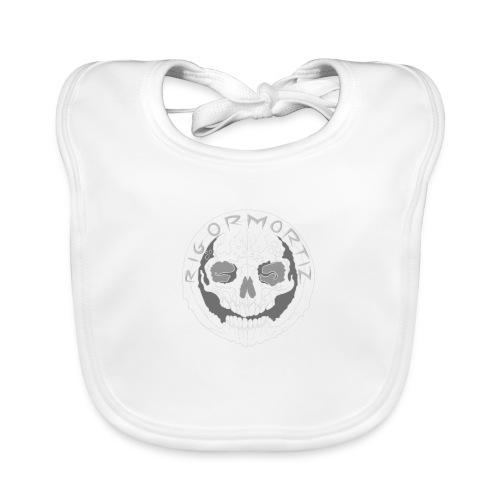 Rigormortiz Wear See through logo - Organic Baby Bibs
