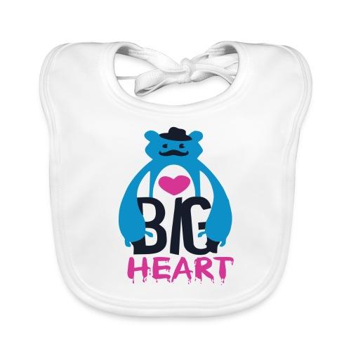 Big Heart Monster Hugs - Baby Organic Bib