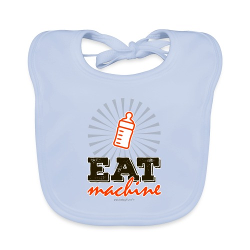 Eat machine - Bavoir bio Bébé