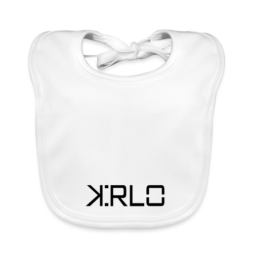 Kirlo Logotipo Negro - Babero ecológico bebé