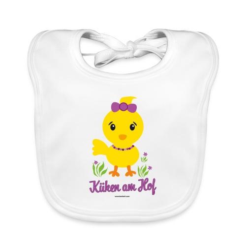 Ostern für kleine Mädchen - Baby Bio-Lätzchen