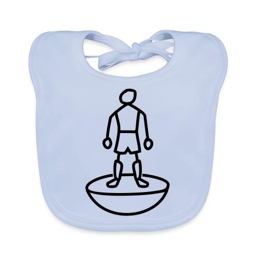 Table Football Stick Man - Baby Organic Bib