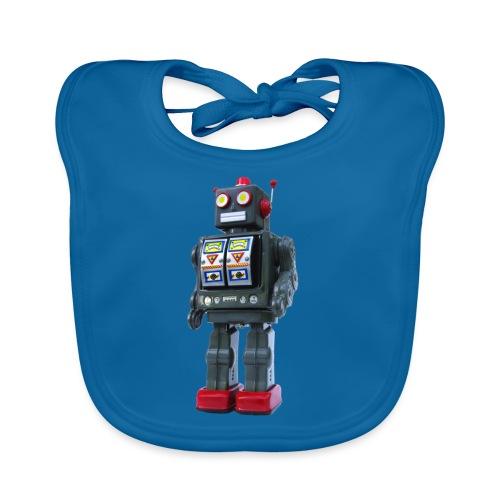 T-Shirt ROBOT - Bavaglino ecologico per neonato