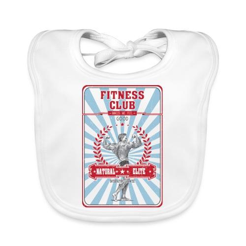 Fitness Club Retro Musculation - Bavoir bio Bébé