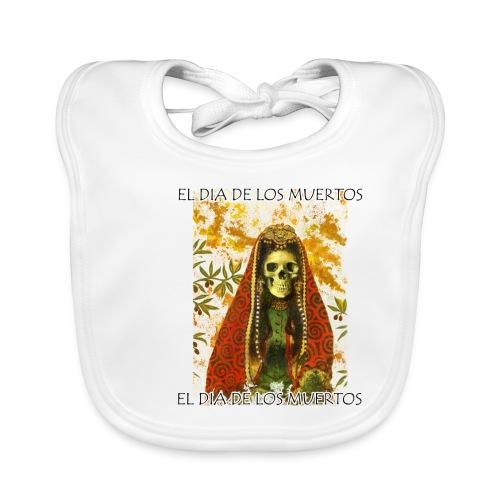 El Dia De Los Muertos Skeleton Design - Baby Organic Bib
