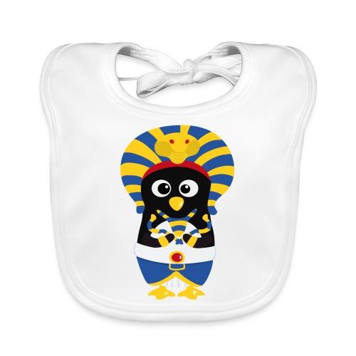 Pingouin Pharaon Egypte - Bavoir bio Bébé