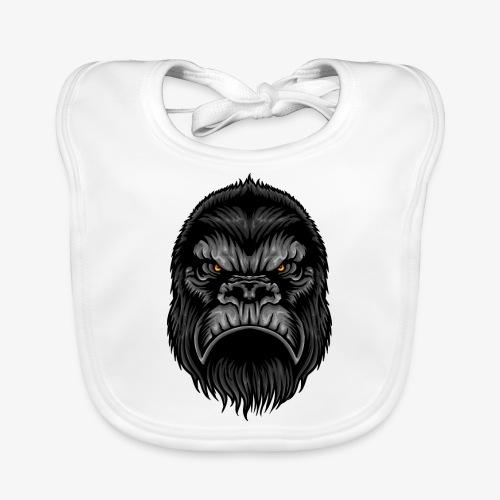Gorille - Bavoir bio Bébé