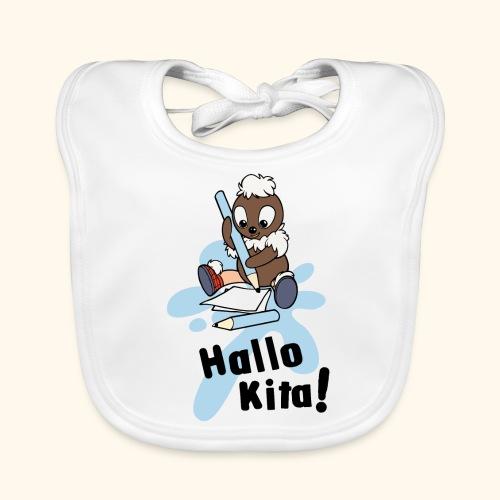 Pittiplatsch Hallo Kita! - Baby Bio-Lätzchen