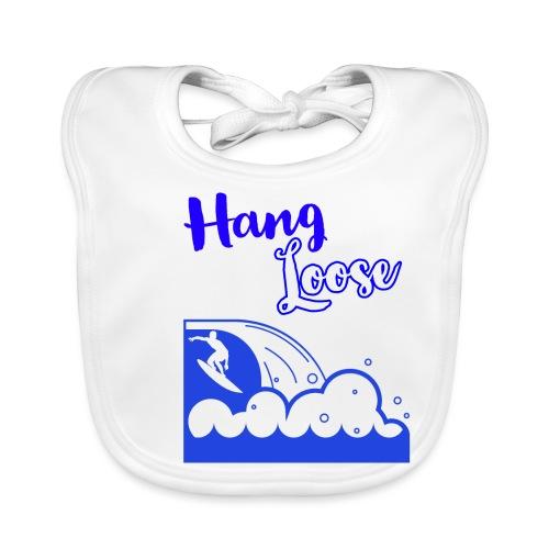 Hangloose Surfer Style Beach Waves Sommer Urlaub - Baby Bio-Lätzchen