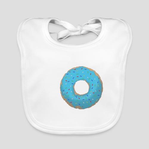 Wähle deinen Donut - Blau | für Männer und Frauen - Baby Bio-Lätzchen
