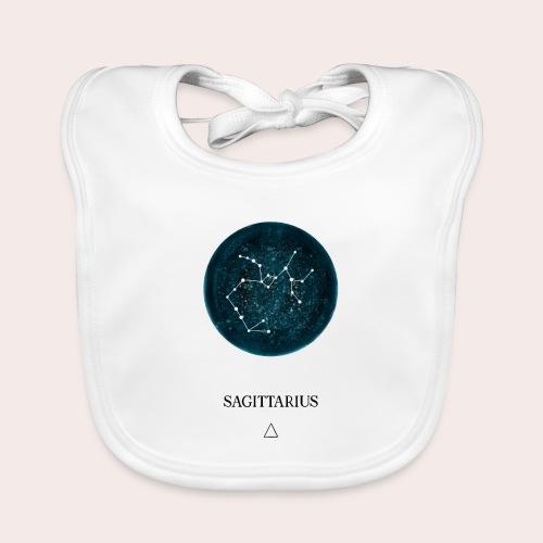 Sternzeichen Astro Sagittarius - Baby Bio-Lätzchen