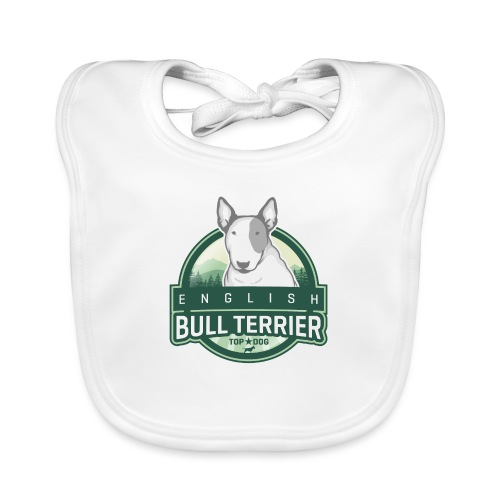 English Bull Terrier FOREST - Baby Bio-Lätzchen