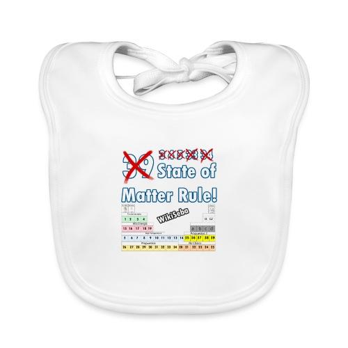 33 Estados de la Materia - Babero ecológico bebé