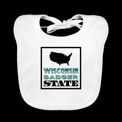 Wisconsin BADGER STATE - Organic Baby Bibs
