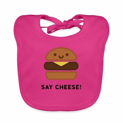 Say Cheese! - Baby Organic Bib