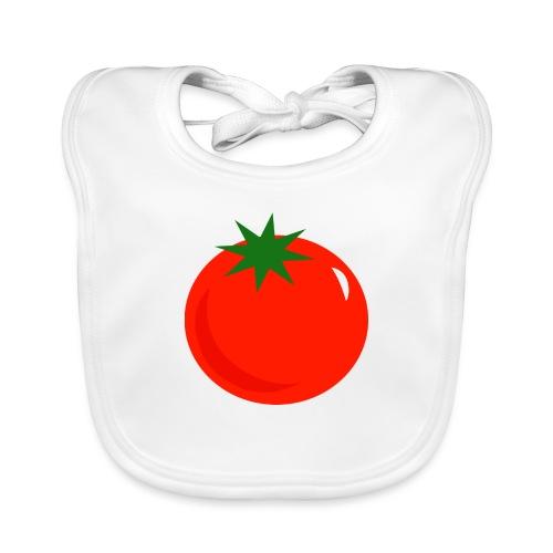 Tomate - Babero de algodón orgánico para bebés