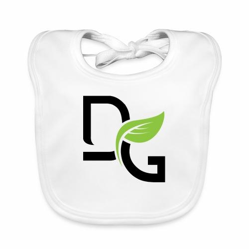 DrGreen Logo Symbol schwarz grün - Baby Bio-Lätzchen