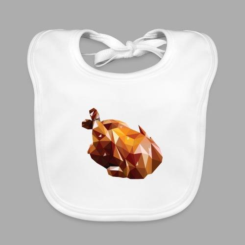 Turkey polyart - Baby Organic Bib