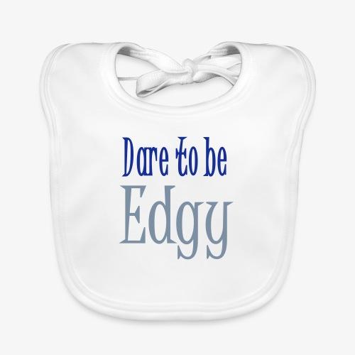 Edgy Glam Typography t-shirt design by patjila - Baby Organic Bib
