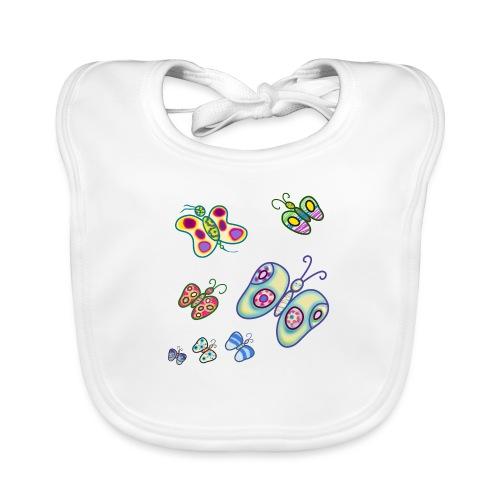 Allegria di farfalle - Bavaglino ecologico per neonato