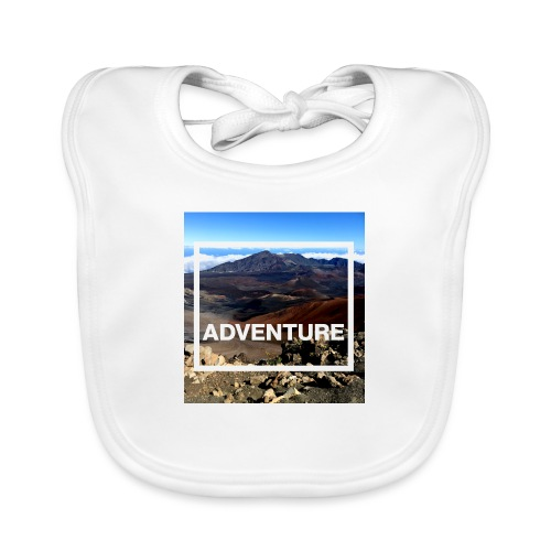 Adventure Abenteuer Vulkan - Baby Bio-Lätzchen
