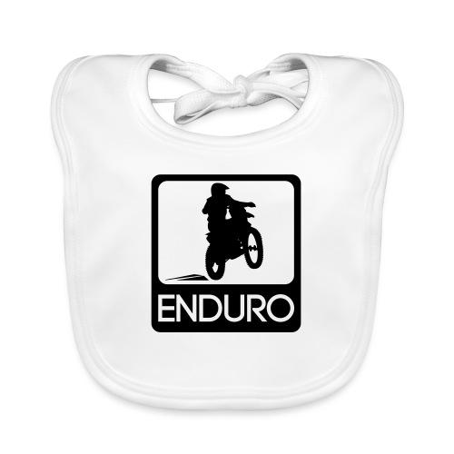 Enduro Rider - Baby Bio-Lätzchen