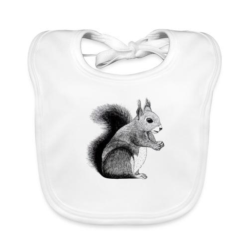 Eichhörnchen Tier Süß Bild Kinder Wald - Baby Bio-Lätzchen