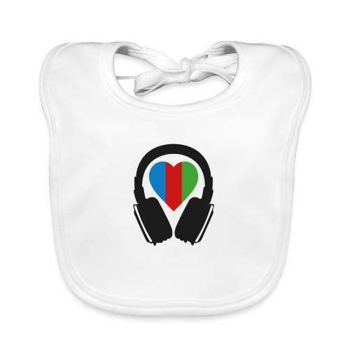 Silent Disco Headphone > Heart | black - Baby Bio-Lätzchen