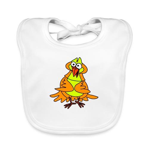 Vogel Nr 3 von dodocomics - Baby Bio-Lätzchen