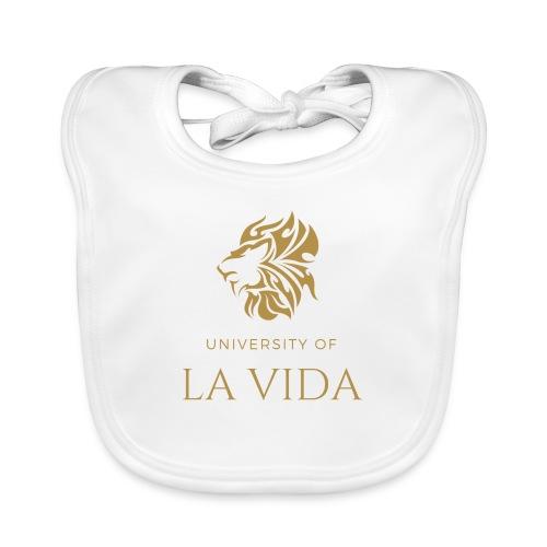 University of LA VIDA - Ekologisk babyhaklapp