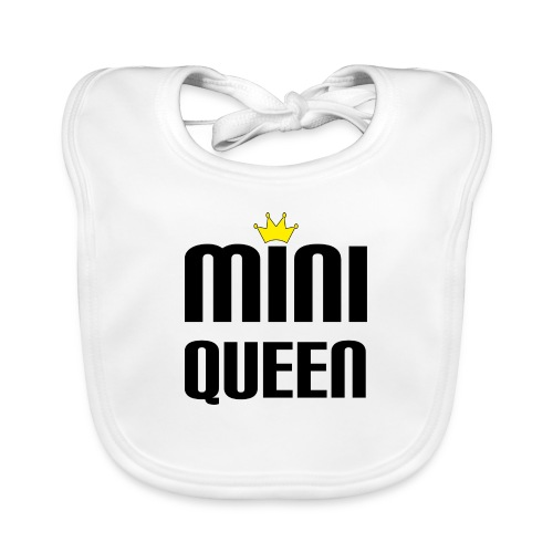 Queen Baby Geschenk - Baby Bio-Lätzchen