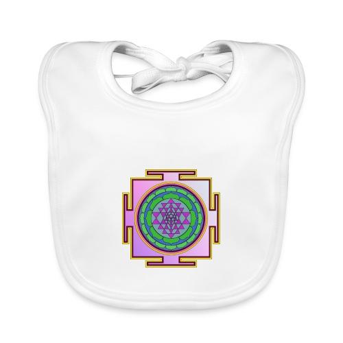 Géométrie sacrée mandala n°2 - Bavoir bio Bébé