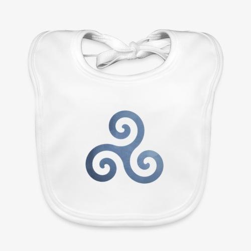 Trisquel 5 - Babero de algodón orgánico para bebés