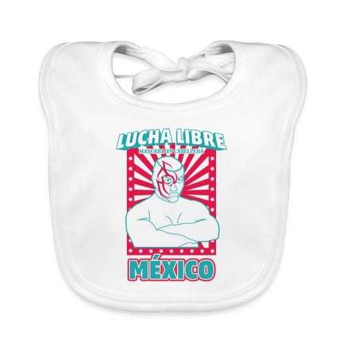 Lucha Libre Mexico 3 - Babero ecológico bebé
