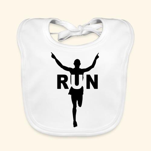 Run course à pied - Bavoir bio Bébé