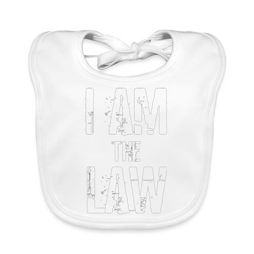 Tank top girl woman I AM THE LAW per avvocatessa - Baby Organic Bib