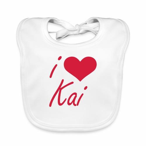 I love Kai - Baby Bio-Lätzchen