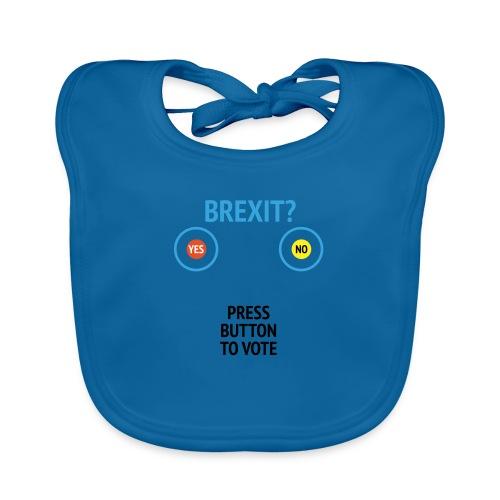 Brexit: Press Button To Vote - Hagesmække af økologisk bomuld