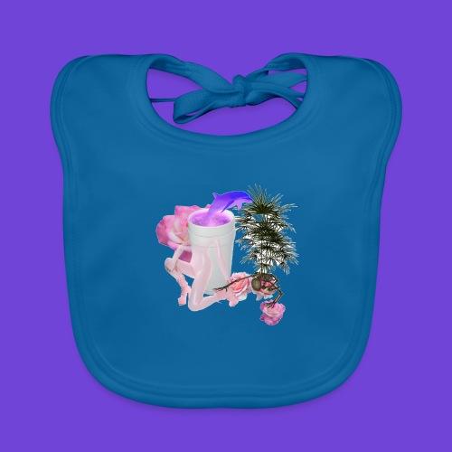 Purple Drank - Bavaglino ecologico per neonato