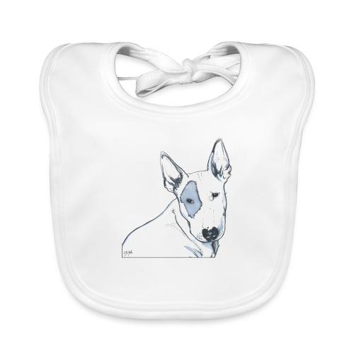 Bull Terrier - Bavoir bio Bébé
