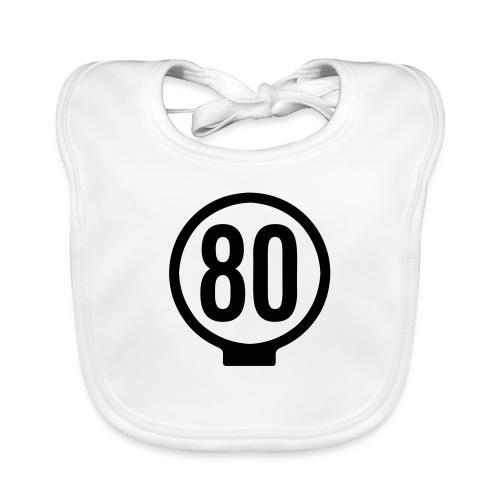 80-lätkä - kasikympin lätkä - Vauvan luomuruokalappu