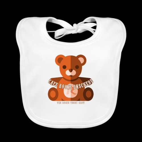 Rocks Teddy Bear - Brown - Bio-slabbetje voor baby's