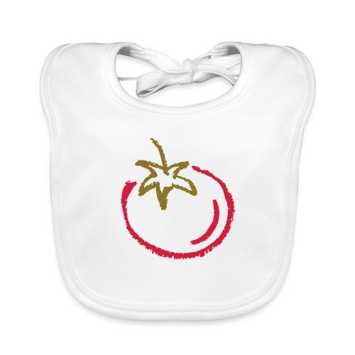 tomato 1000points - Organic Baby Bibs