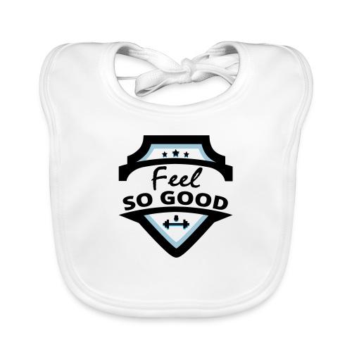 feelsogood white - Bio-slabbetje voor baby's