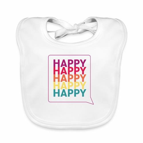 Happy - Baby Organic Bib