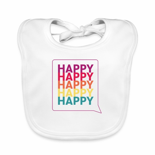 Happy - Organic Baby Bibs