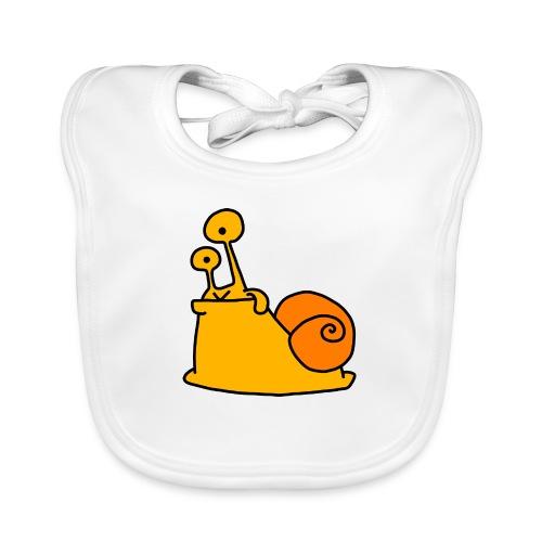 Schnecke Nr 21 von dodocomics - Baby Bio-Lätzchen