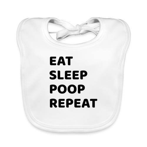 eatsleeppoop - Organic Baby Bibs