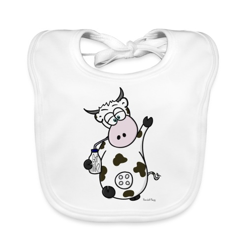 MeuhNox la vache - Bavoir bio Bébé