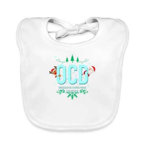 Obsessive Christmas Disorder - Baby Organic Bib
